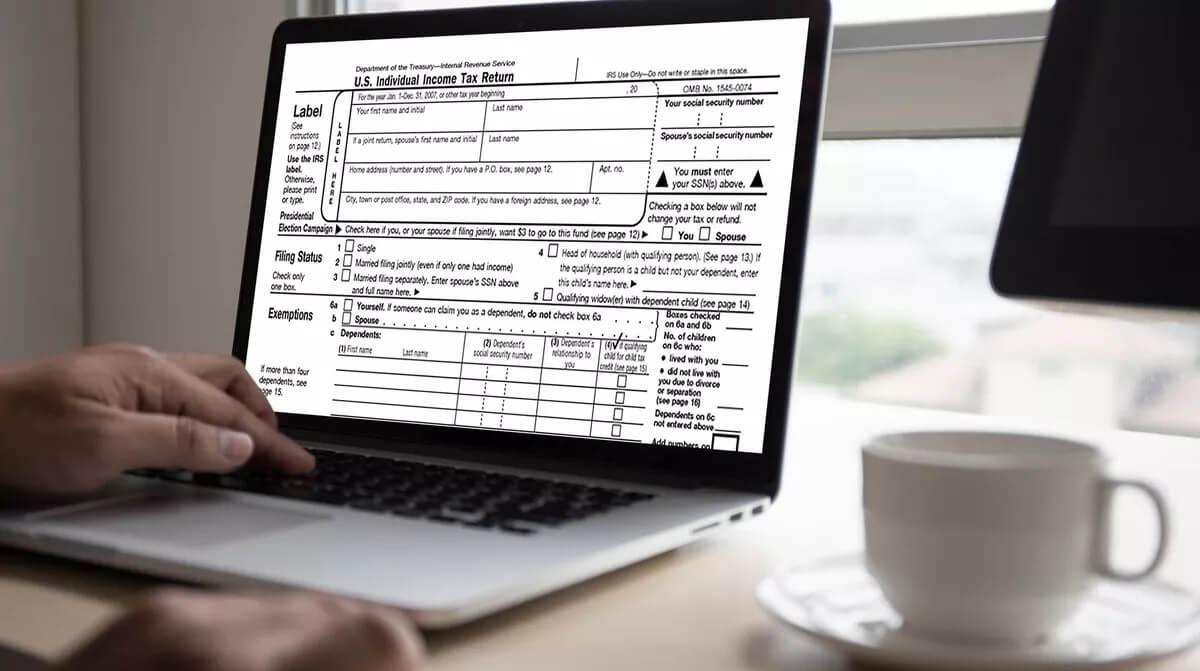 Freelance Tax Software Dashboard