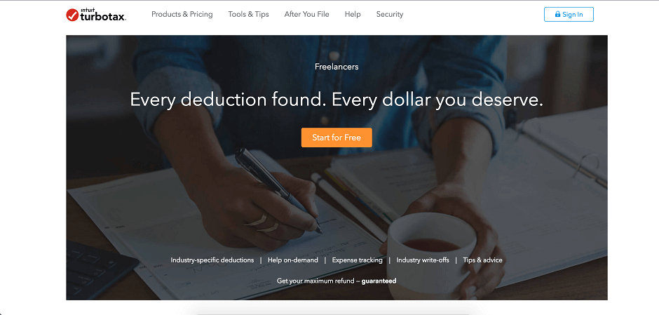 TurboTax for Self Employed