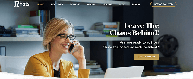 17hats homepage