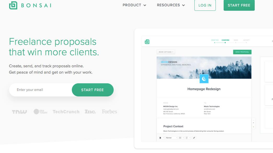 Bonsai proposals