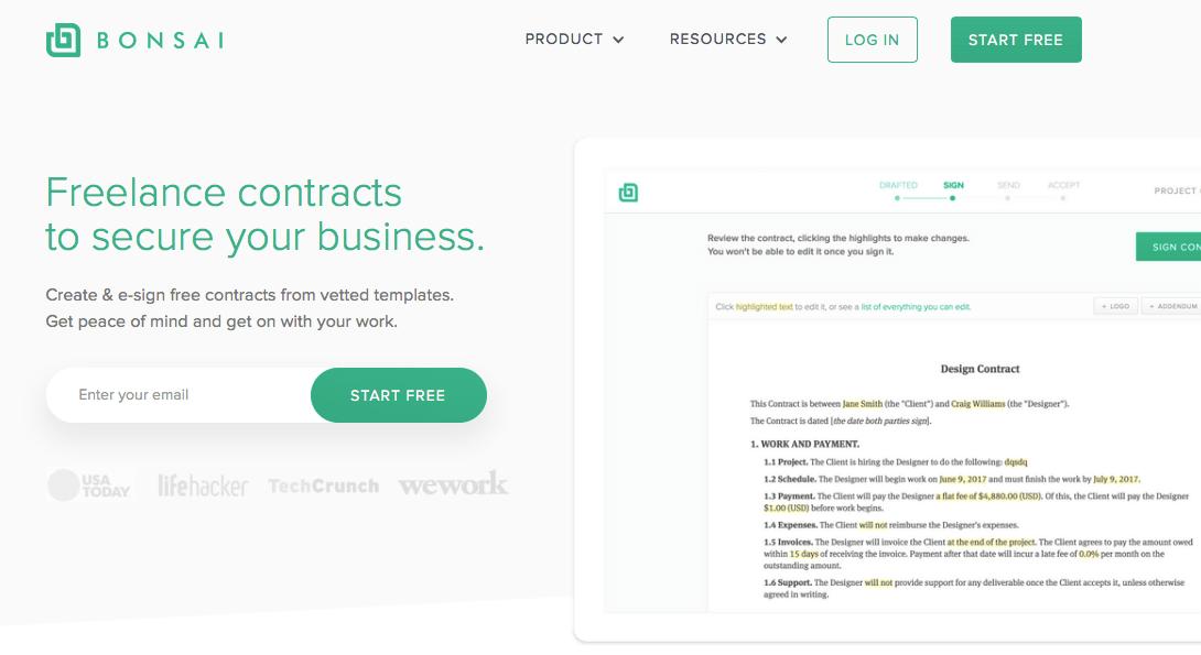 Bonsai contracts
