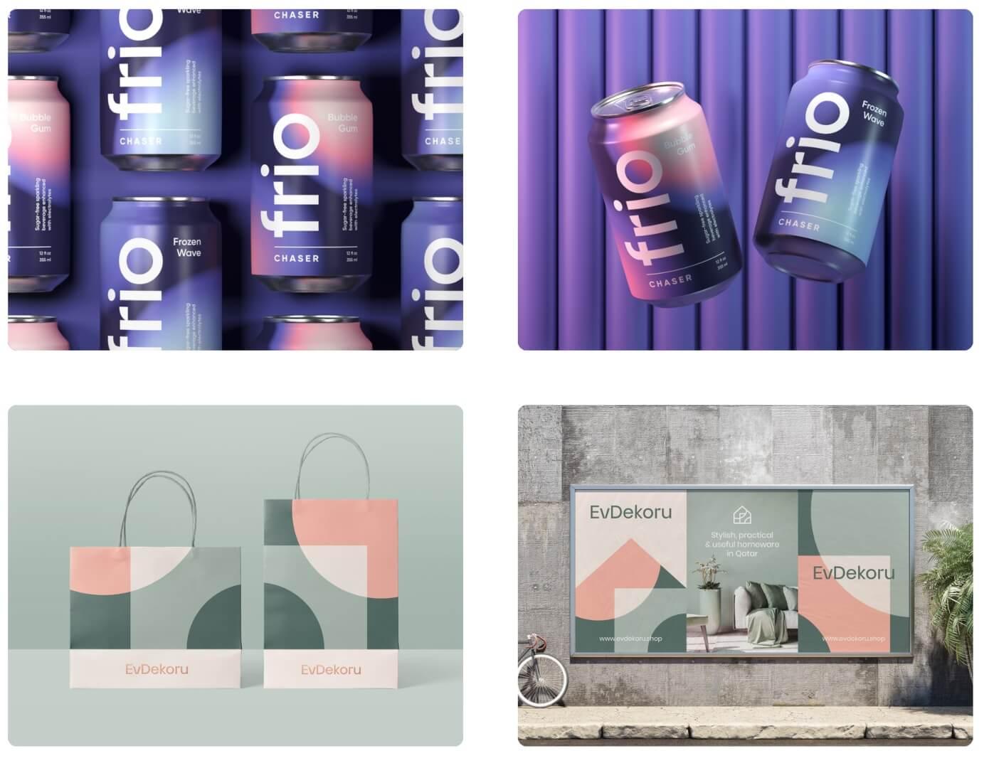 packaging graphic design by Alex Spenser
