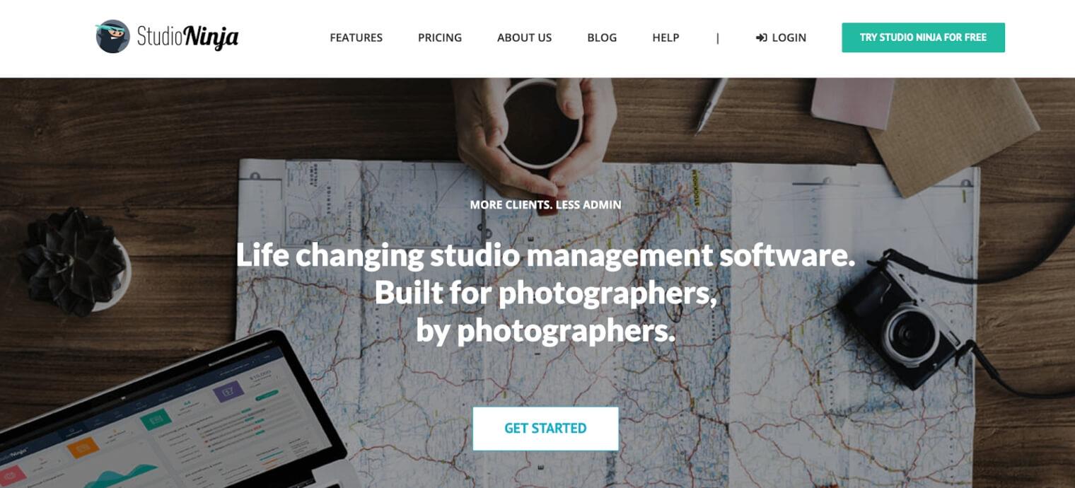 Studio Ninja webpage