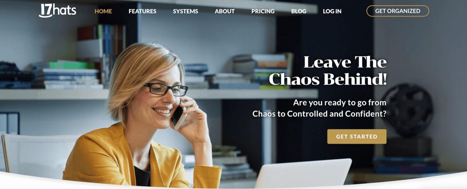 17hats web page