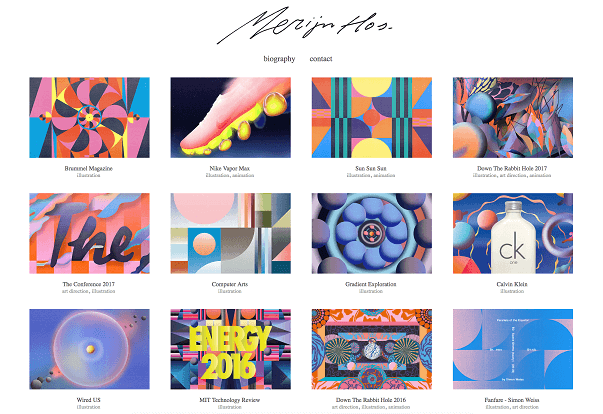 Merijn Hos Online Design Portfolio