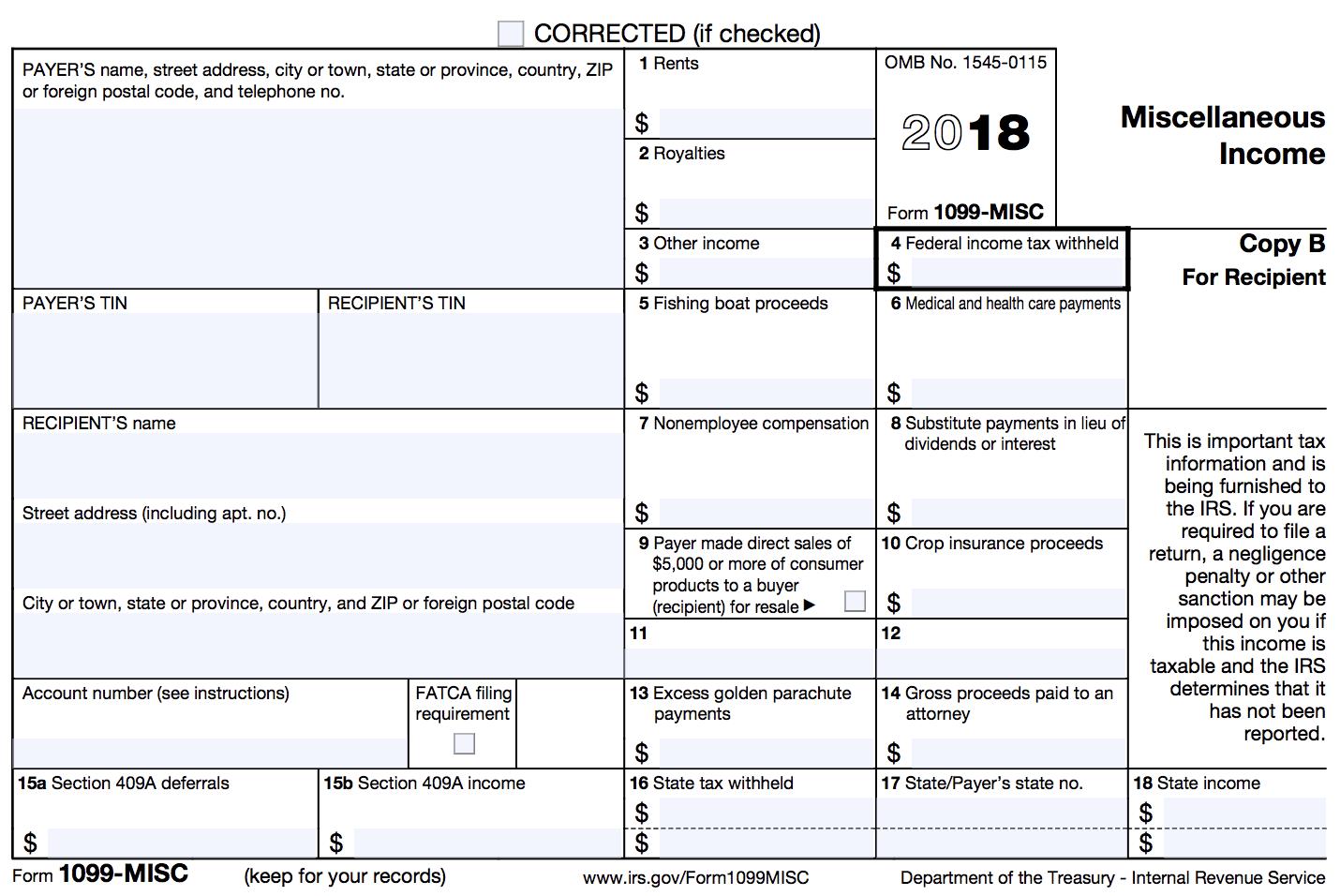 1099 form