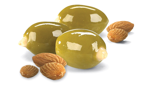 Almond Stuffed Olives Image