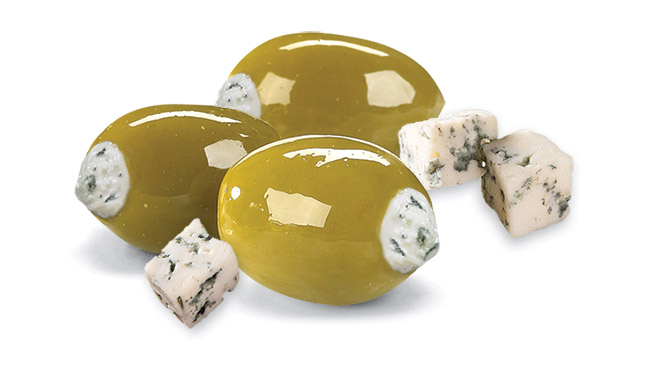Blue Cheese Stuffed Olives Image