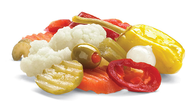 Hot Mixed Vegetables Image