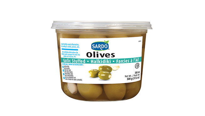 Garlic Stuffed Olives 500 mL