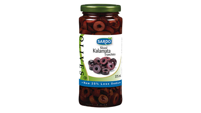 Sliced Kalamata Olives Image