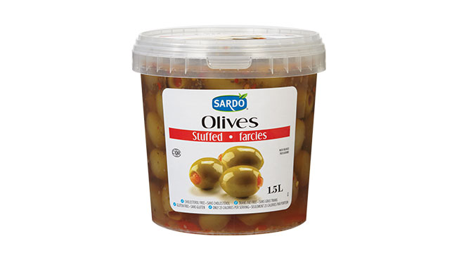 Stuffed Green Olives 1.5 L