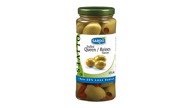 Stuffed Green Olives 375 mL