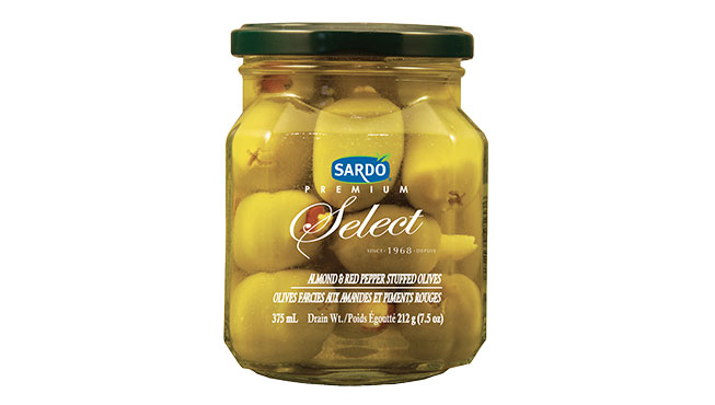 Almond & Red Pepper Stuffed Olives 375 mL