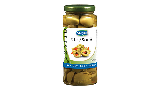 Salad Olives 375 mL