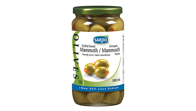 Stuffed Green Olives 500 mL