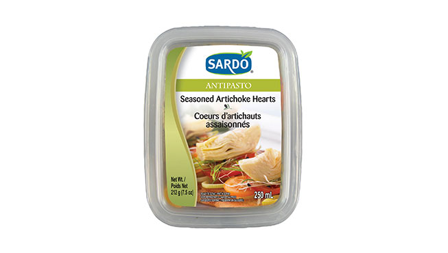Seasoned Artichoke Hearts 250 mL