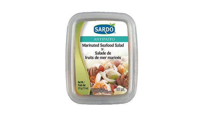 Marinated Seafood Salad Image