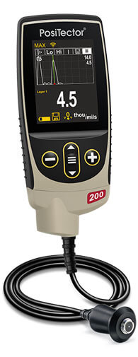 PosiTector 200B in Graphics Mode