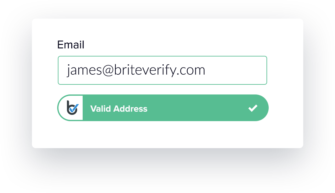 Email verification from BriteVerify
