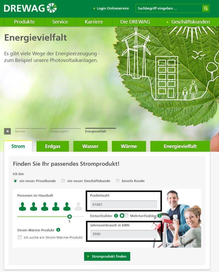 Wer den Strom-Preisvergleich in Dresden vermeidet, kann trotzdem durch einen Tarifwechsel sparen