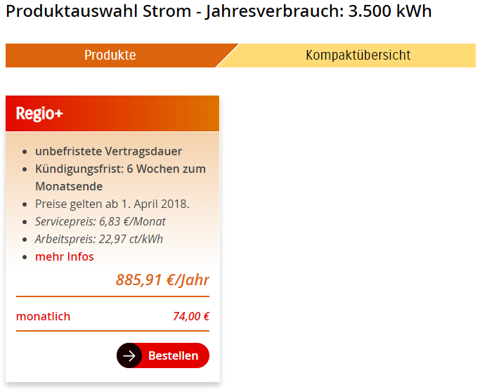 Stromanbieter wechseln mit einem günstigen Stromtarif der EV Halle Regio+