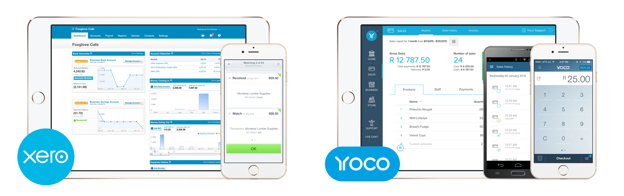 Xero and Yoco Integration
