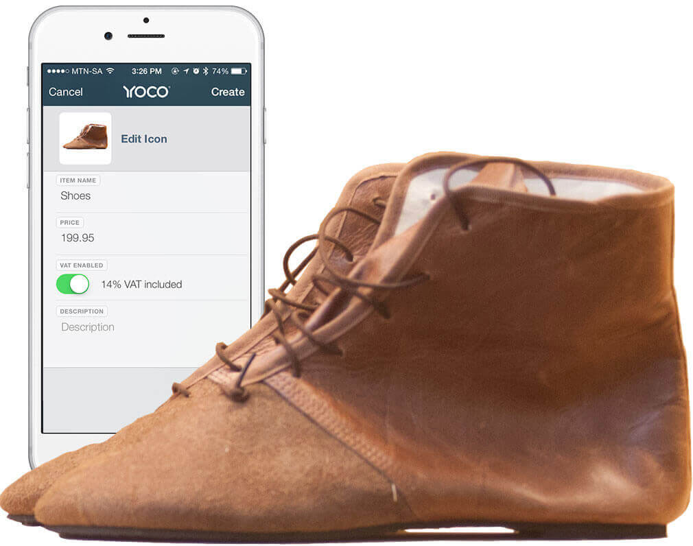 Products Stored In The Yoco App