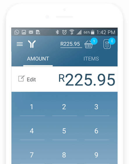 The Yoco Point Of Sale App