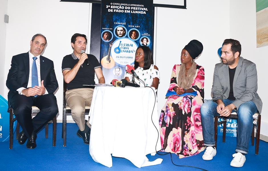Expectativas em alta para  a terceira edição do Festival de Fado Caixa Luanda