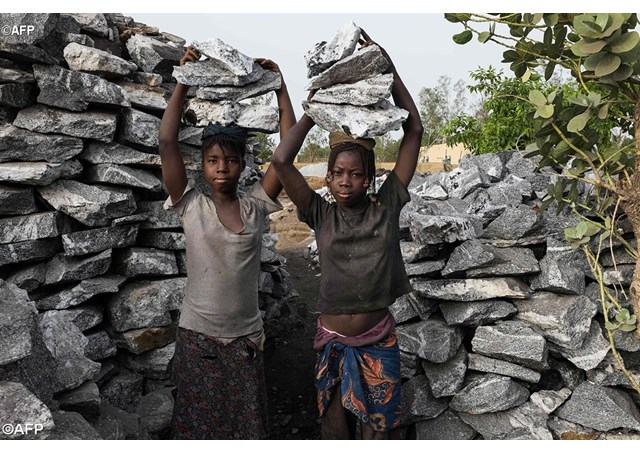 Crianças moçambicanas sãos expostas às piores formas de trabalho