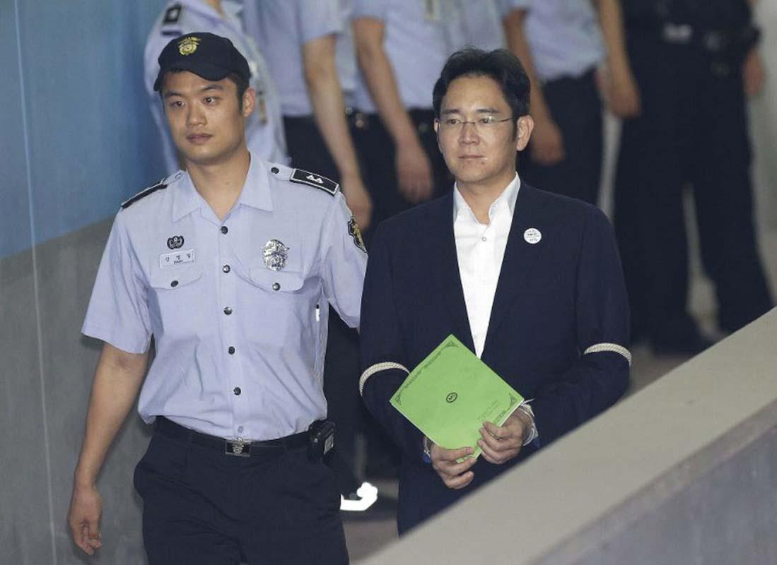 Ministério Público da Coreia do Sul pede 12 anos de prisão para herdeiro da Samsung