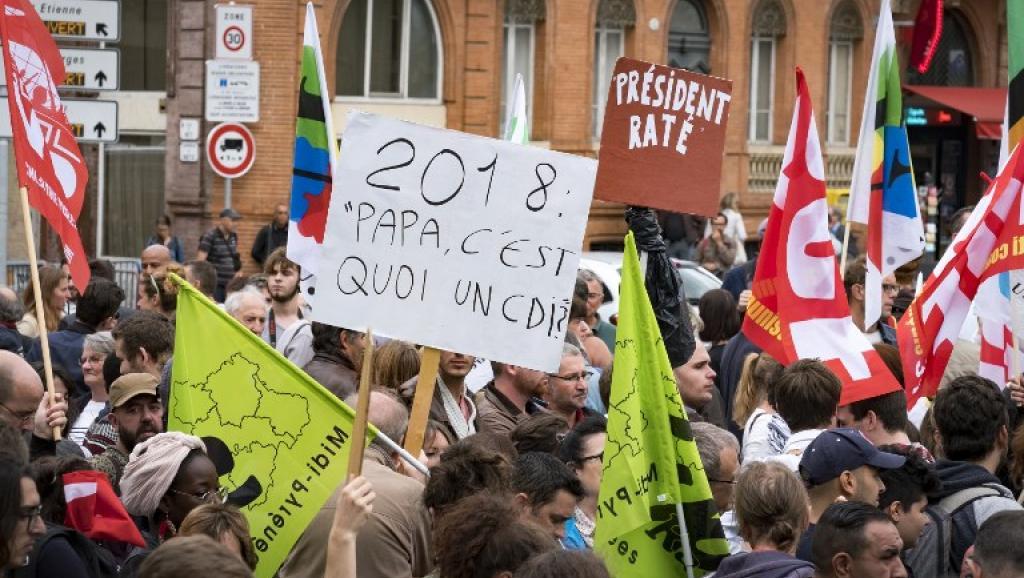 França: Presidente enfrenta primeiras manifestações