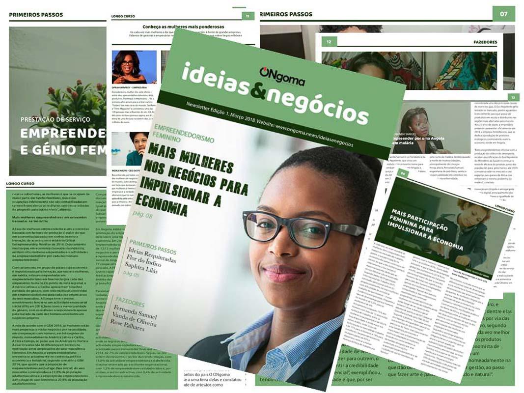 Empreendedorismo feminino em destaque no ONgoma News