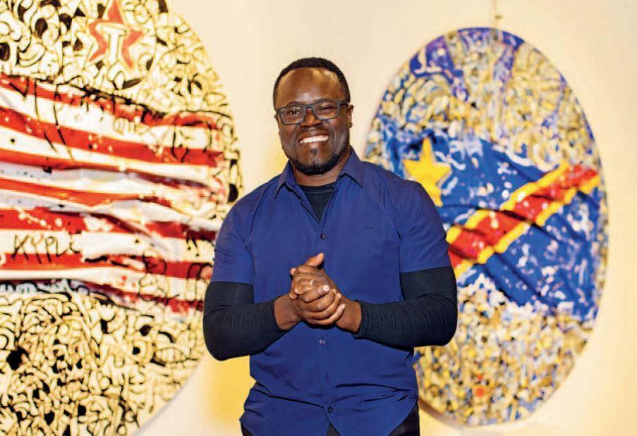 Exposição de Guilherme Mampuya celebra África e 12 anos de carreira