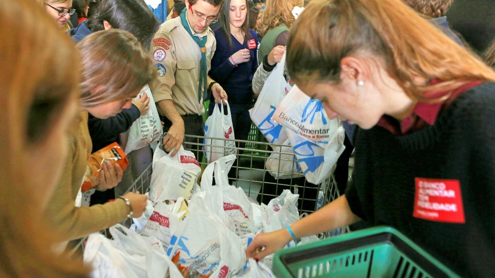 Banco Alimentar realiza oitava campanha recolha de alimentos
