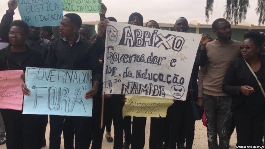 Namibe: Professores voluntários reivindicam direitos