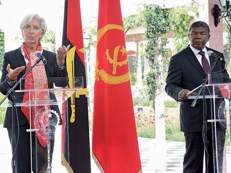 Angola já recebeu mil milhões de dólares do FMI