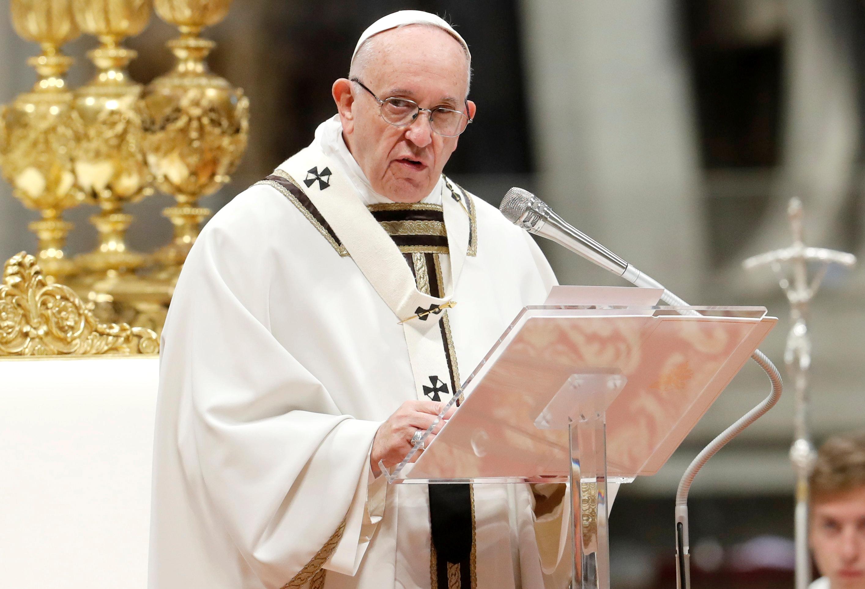 Políticos devem proteger os cidadãos, apela Papa Francisco
