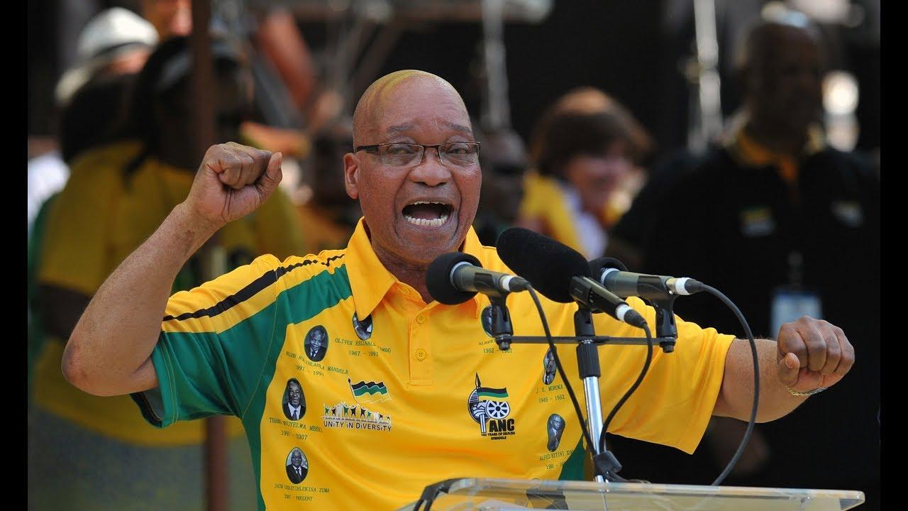 Jacob Zuma pretende gravar músicas de protesto