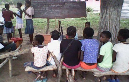 Huíla: Milhares de crianças podem voltar a estudar debaixo de árvores no município do Quipungo