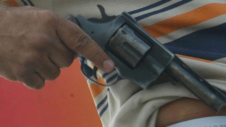 Marginais assaltam fábrica de bloco e atingem mortalmente um segurança