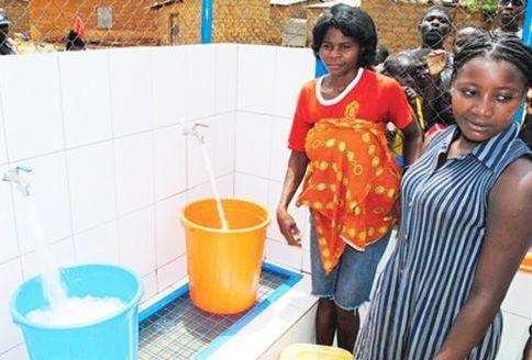 Bairros com acesso à água restrito