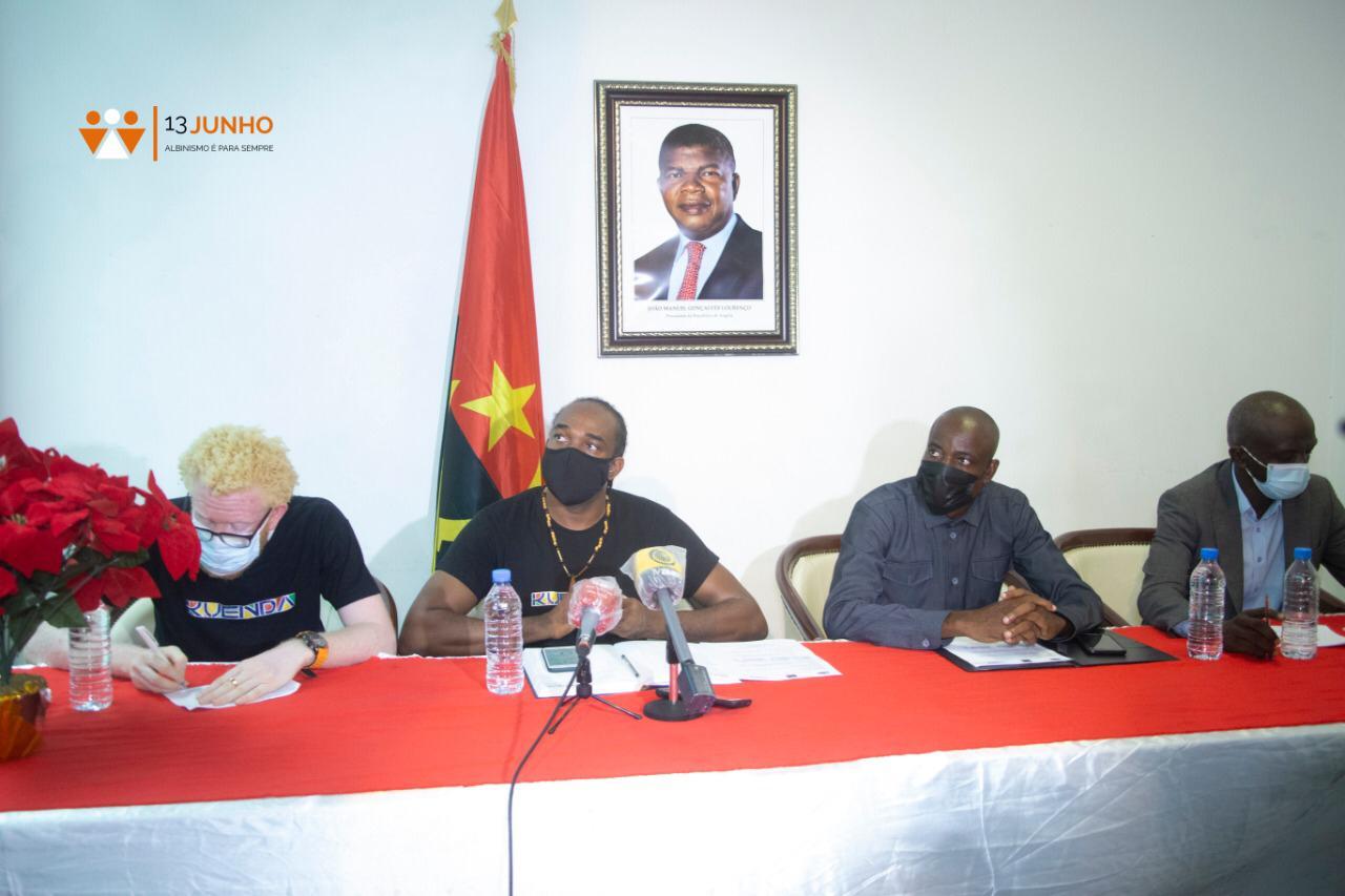 Projecto de consciencialização sobre o albinismo foi apresentado hoje em Luanda