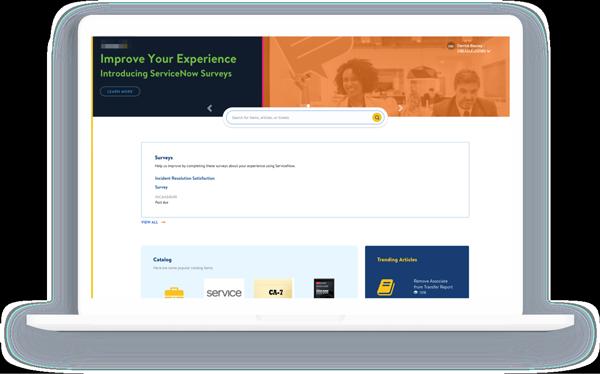Old Retailer Service Portal Design