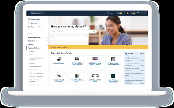 Retailer ServiceNow Service Portal Design