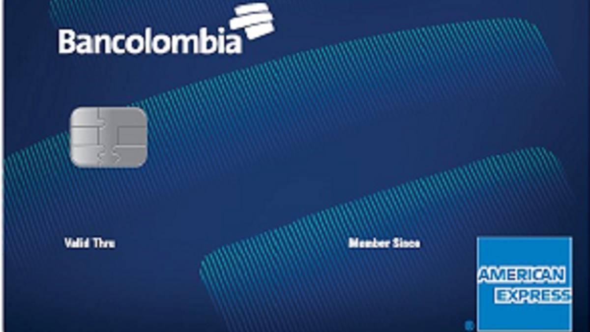 Bancolombia lanza primera tarjeta de crédito sin cuota de manejo. Está respaldada por American Express