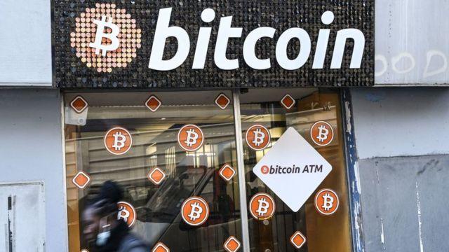 tienda bitcoin en Marsella, Francia, 8 de enero de 2021