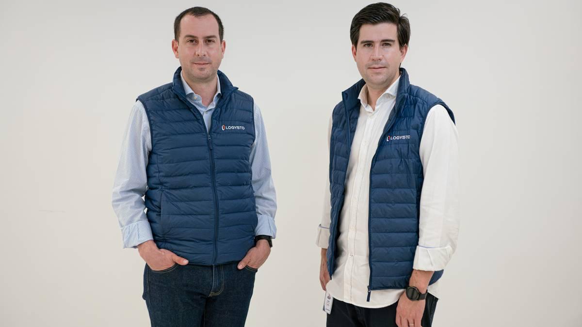 David y Camilo Arango, fundadores de Logysto