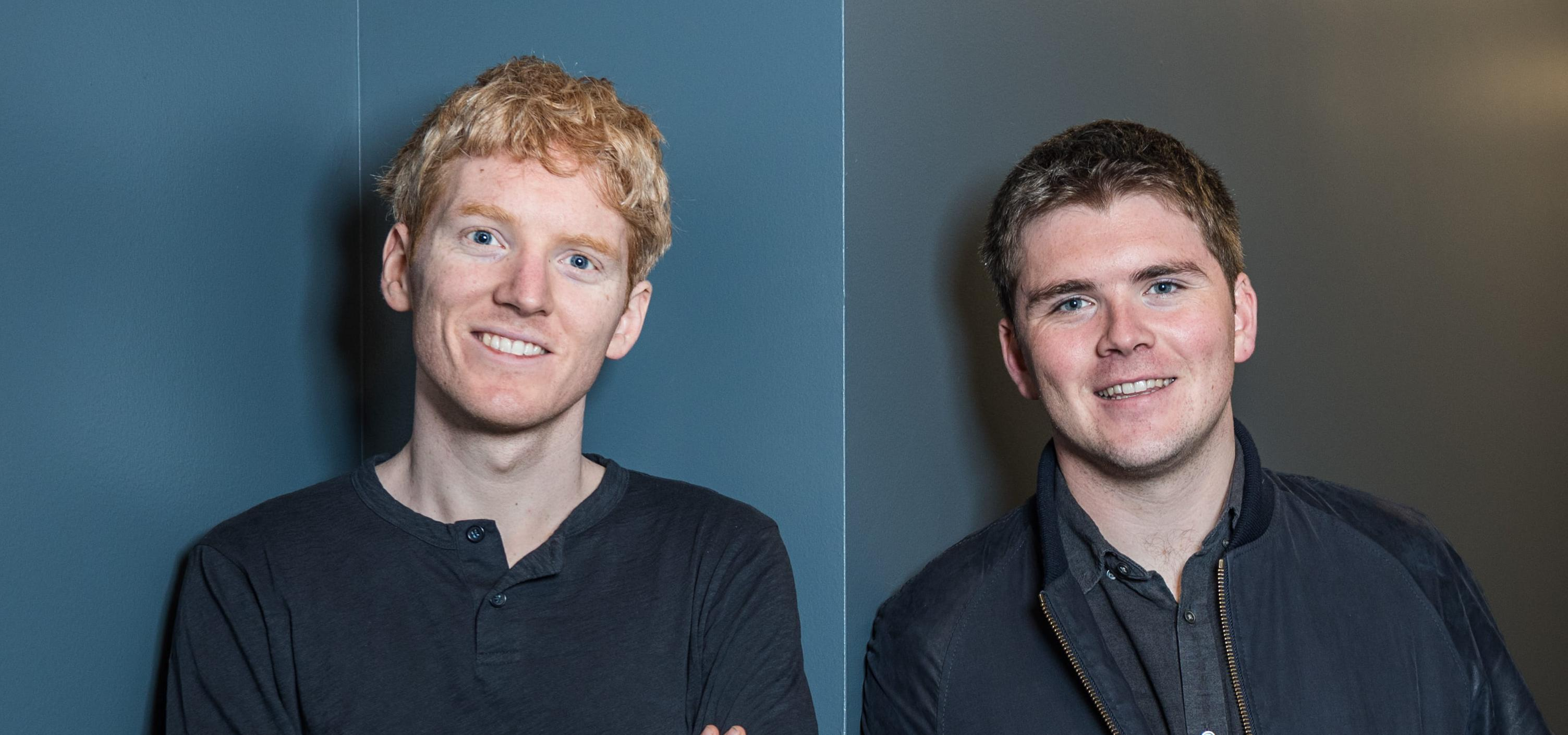 Stripe CEO Patrick Collison and president John Collison. Stripe is the most valuable private fintech company in America, and the second-most valuable startup in the world.